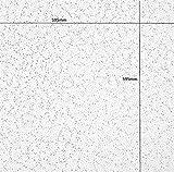Armstrong Cortega Plat Planche de dalles de plafond 600x 600mm Carré Edge 24mm...