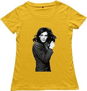 Goldfish Women's Fashion Ring Spun Cotton Eddie Money T-Shirt