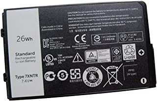 United Power Replacement 7XNTR Battery for Dell Latitude 12 7202 Rugged Tablet FH8RW J7HTX 0FH8RW 7.4V 26Wh