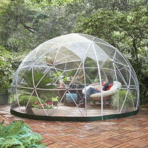 igloo jardin, Igloo Transparent de Jardin pour Profiter de la Nature (video)
