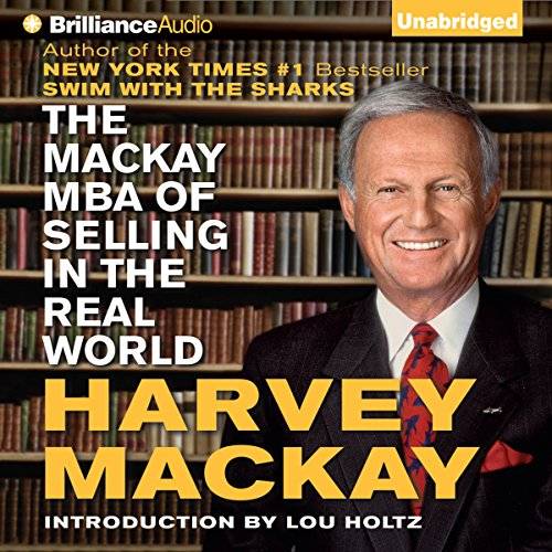The Mackay MBA of Selling in The Real World audiobook cover art