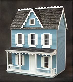 Real Good Toys Dollhouse Miniature Vermont Farmhouse Jr. Dollhouse by RGT