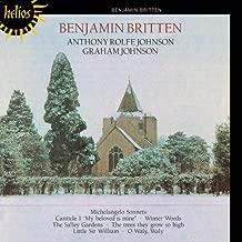 Britten: Michelangelo Sonnets, Winter Words.