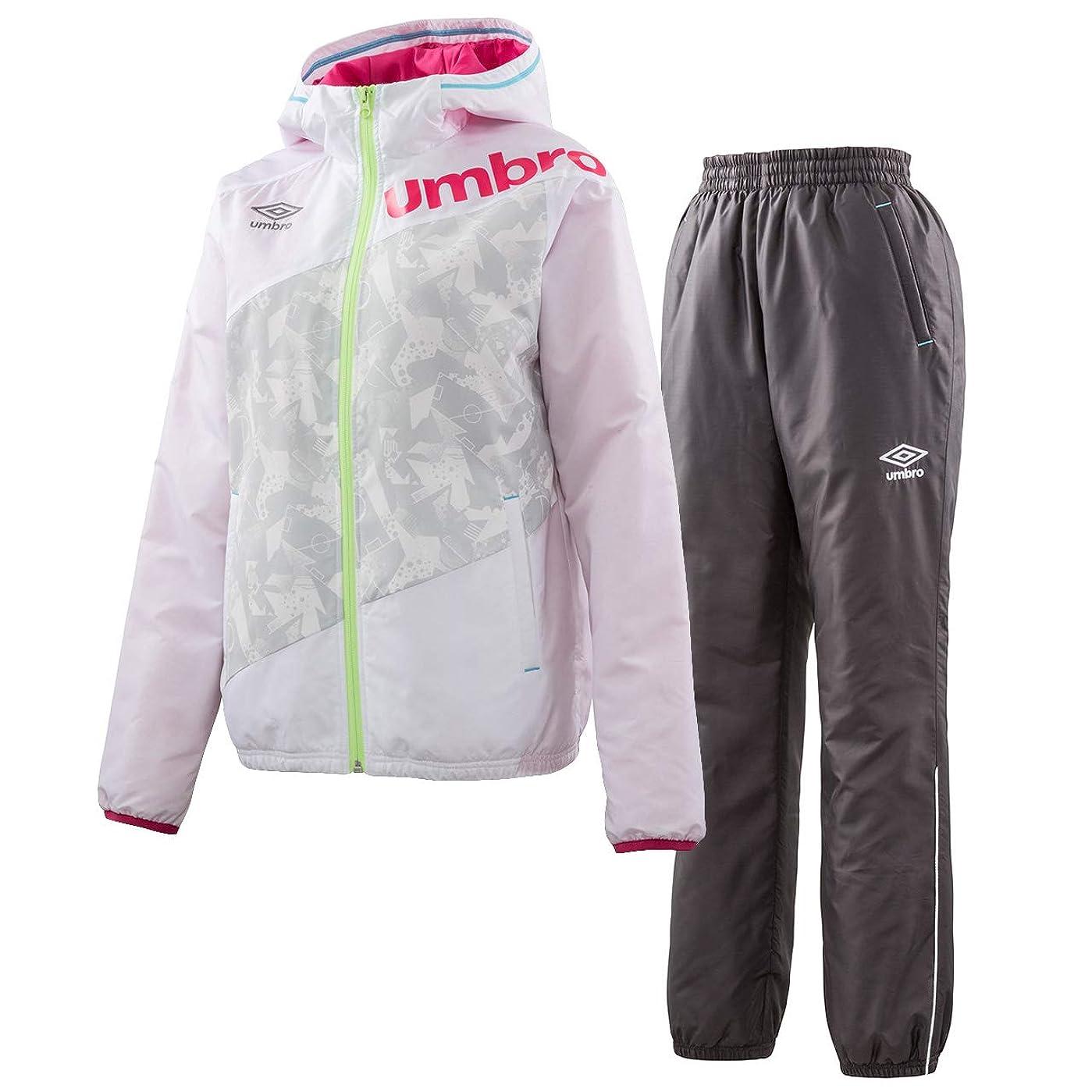 警告するまどろみのある詳細にウィメンズ インシュレーションジャケット&パンツ 上下セット(ホワイト/カーボン) UMWMJF41-WHT-UMWMJG41-CBN