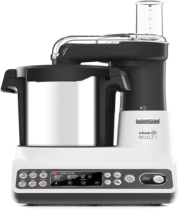 Robot da cucina food processor con funzione cottura, 10 accessori inclusi kenwood ccl401wh B01B1OXKU0