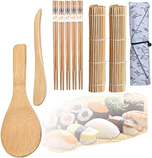 Sushi Set, Sushi Maker, Original Bambus Kit -2 Sushi Matte-1