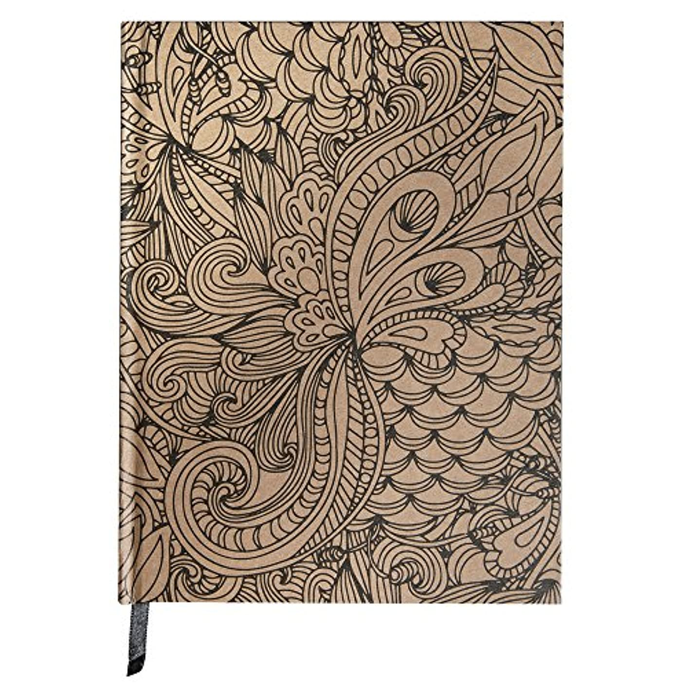 RAYHER HOBBY 67179521?Tangle Jungle Pack of 65?Sheets FSC Mixed Credit Paper Notebook 2.1?x 1.6?x 0.16?cm