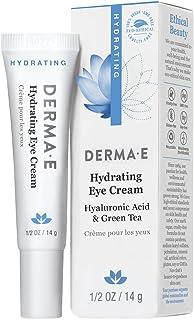 DERMA-E Hydrating Eye Cream, Hyaluronic Acid, .5oz, Pack of 1 (1975)
