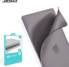 """JRCMAX [Air Armour Invisible Shell, Thinnest Lightest Hard Case for MacBook Pro 12-Inch 12"""" Retina (Model Number A1534) - Space Gray"""