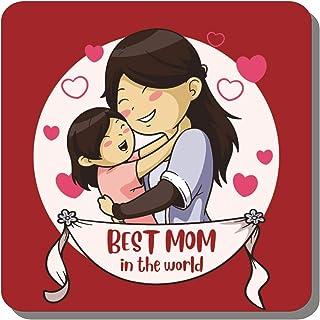 Family Shoping Best Mom in The World Fridge Magnet for Home Kitchen Office Cabin