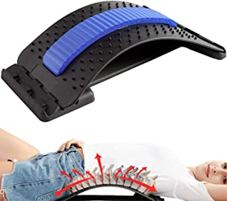 Sponsored Ad - Back Stretcher, Ravizat Lumbar Stretching Device with 3 Adjustable Settings, Lumbar Back Pain Relief Device...