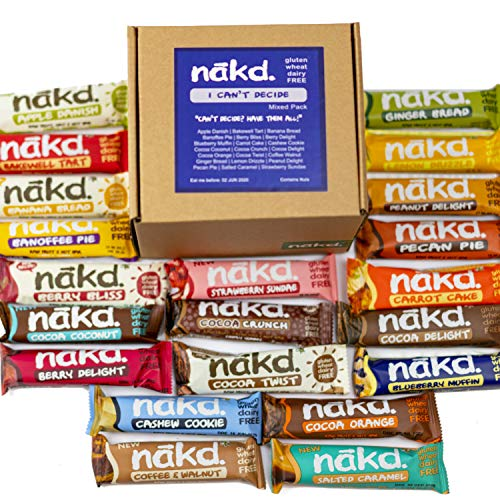 Nakd Mixed Case Selections 24er Pack (I Can't Decide)
