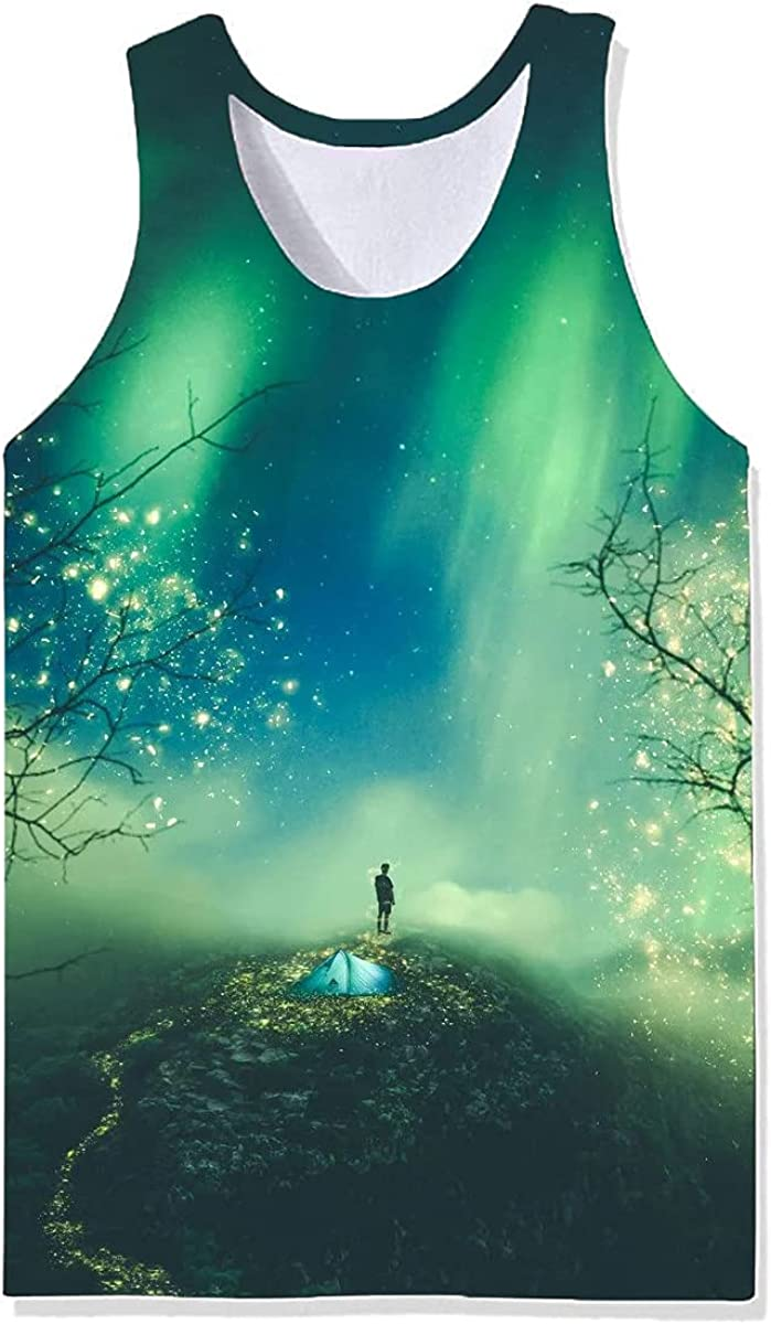 Cheap Oakland Mall super special price Damela Boy 3D Magical Printed Vest Pullover Journey