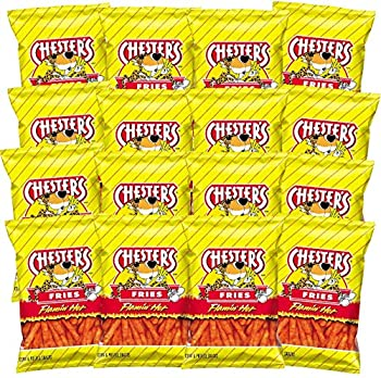 Chester s Flamin  Hot Fries  1.75 ounce bags  Pack of 16