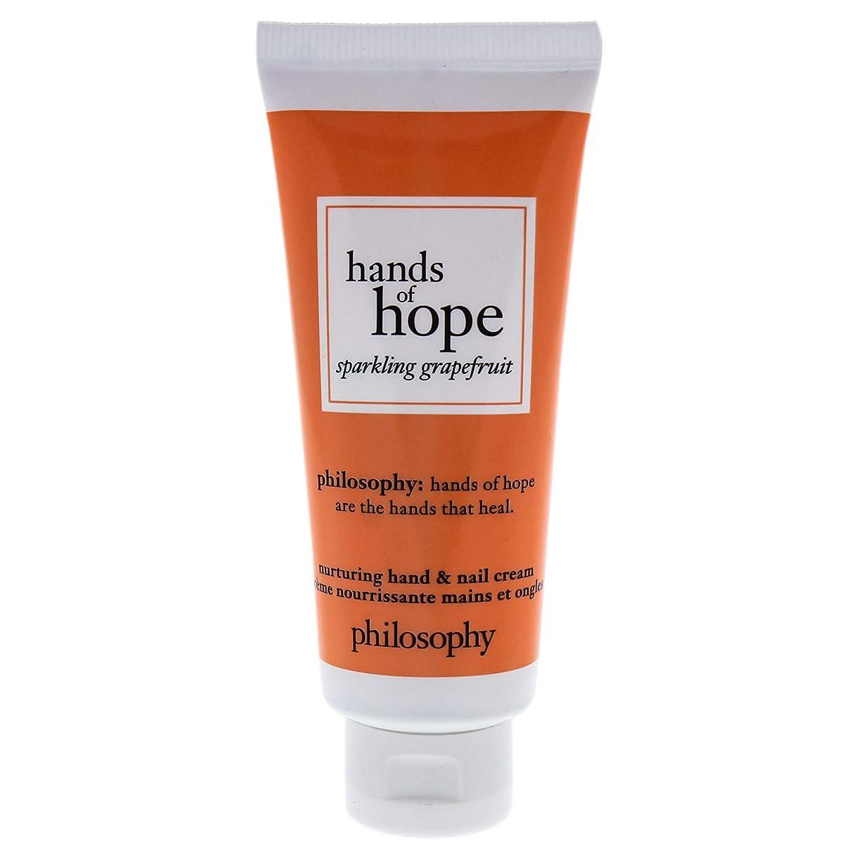 出会い変更可能推定するフィロソフィー Hands of Hope Sparkling Grapefruit Hand & Nail Cream 30ml/1oz並行輸入品