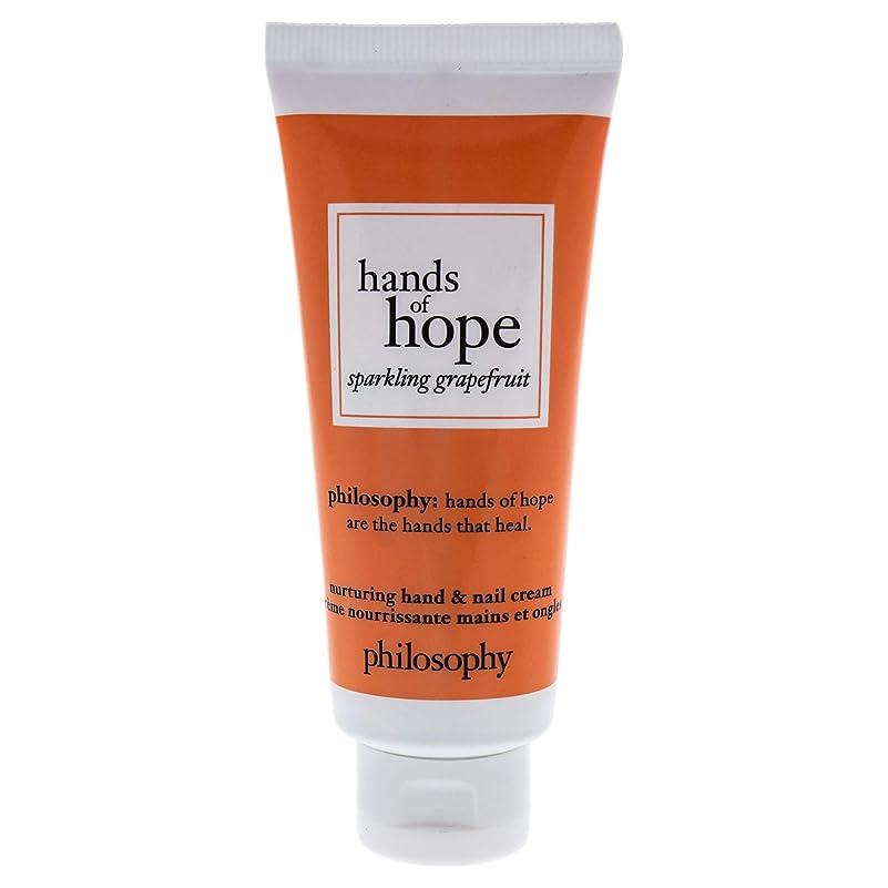 ラショナル施しシェアフィロソフィー Hands of Hope Sparkling Grapefruit Hand & Nail Cream 30ml/1oz並行輸入品