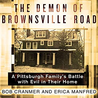 The Demon of Brownsville Road audiobook cover art