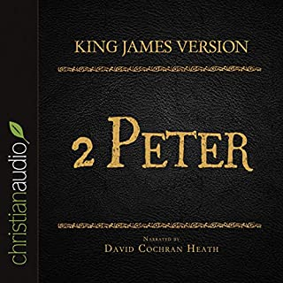 Holy Bible in Audio - King James Version: 2 Peter audiobook cover art