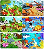 Best Puzzles - Puzzles for Kids Ages 4-8, 6 Pack Wooden Review
