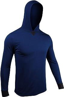 Men's Long Sleeve Hooded Tee