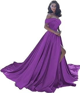 Prom Dress Long Split Off Ball Gowns For Women Wedding Evening Dress