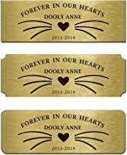 Engraved Memorial Name Tag Flag Case Shadow Boxes Pets Name 3
