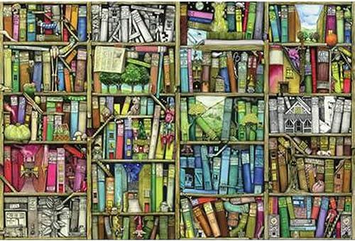 LINGNA Puzzle Fun en Bois Puzzle Décompression Dessin Animé étagère Magique Assemblée Jeu Peinture Peinture Décoration de La Maison Adultes Enfants Cadeaux Personnalisés,2000Pieces