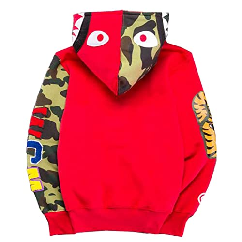 629d6e3c2 Scarlett Mens Hoodies Ape Bape Sweatshirt Fashion Outdoor Tracksuit Casual  Hip-Hop Funny Coat