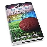Personnalisé Rugby sur ce jour livre–Cadeau de Noël Anniversaire Dad son Grandad