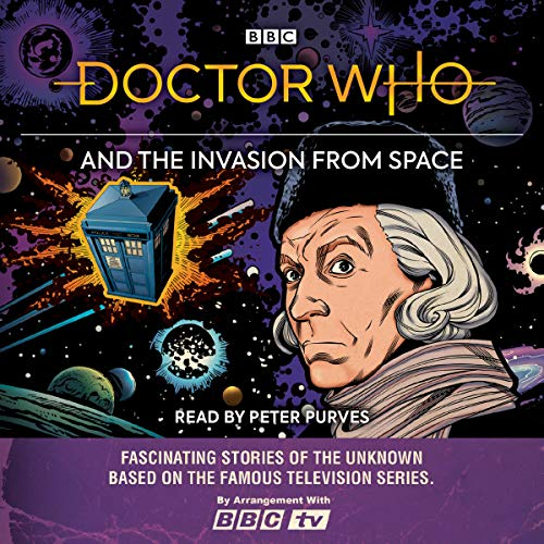 Doctor Who and the Invasion from Space audiobook cover art