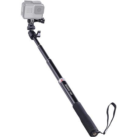 // 3 VANWALK Selfie Stick Selfie Barras Ajustables para Gopro Hero 7 6 5 Sesi/ón 4//3 AKASO EK7000 V50 Pro Brave 4 Dragones de Cruz C/ámara Campark dji OSMO Action Camera
