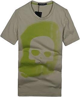 [ハイドロゲン] メンズ Tシャツ おしゃれ ブランド ドクロ スカル カジュアル 半袖 HYDROGEN B7615 [並行輸入品]