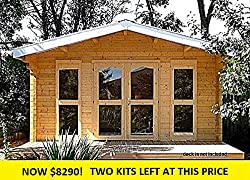 Amazon Tiny Houses--Allwood Sunray Cabin