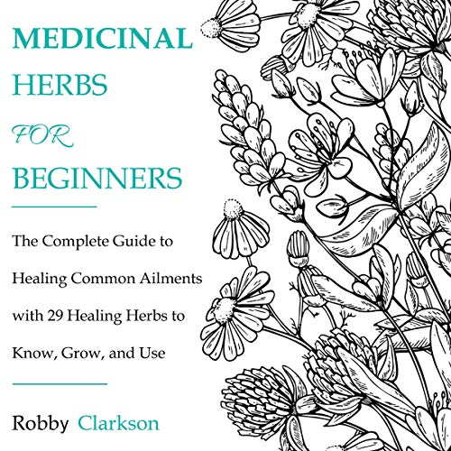 Medicinal Herbs for Beginners audiobook cover art