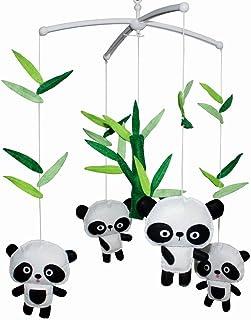 [Pandas mignons] belle musique infantile main portable lit bébé portable