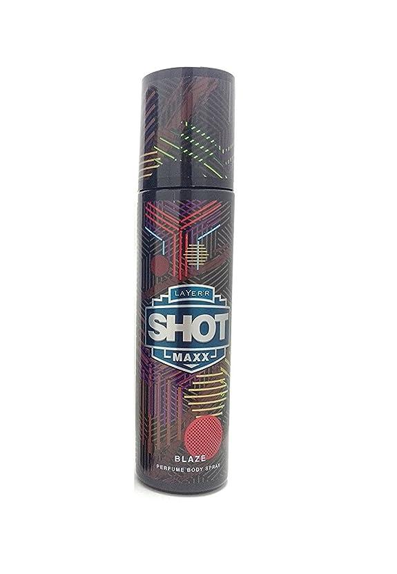 課す付ける上向きLayer'r Shot Maxx Perfume Body Spray, Blaze, 125ml