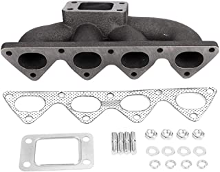 Gorgeri Engine Turbo Manifold,Cast Iron Engine Turbo Manifold Fit for CRX B16 / B18 / B20 BMF002