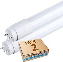 (LA) 2x Tubo LED 60cm, 9W, color blanco frio (6500K), T8 Standard (sustituye tubo de gas de 18w) -Venta desde ESPAÑA- Envio gratis (Pack 2x)