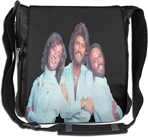 Bee Gees Large Capacity Messenger Bag Shoulder Bag Simple Fashion Personality