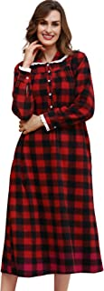 christmas flannel nightgown