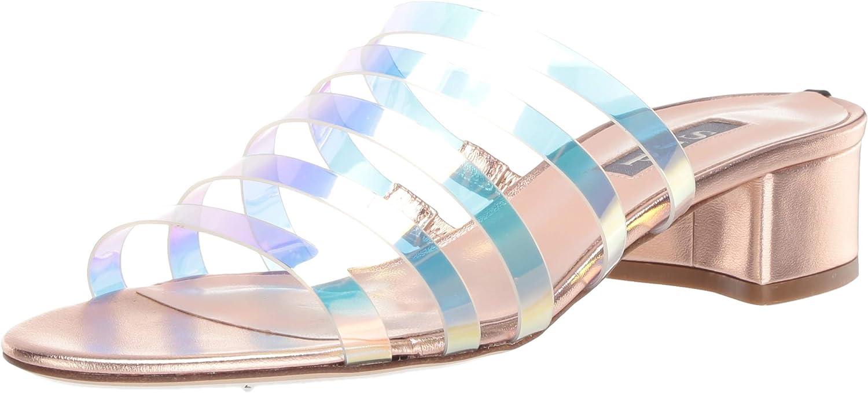 SJP by Sarah Jessica Parker Women's Slide Heeled Sandal
