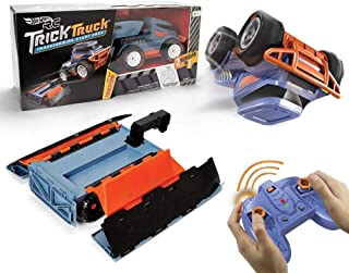 Hot Wheels R/c Trick Truck Transforming Stunt Park Vehicle