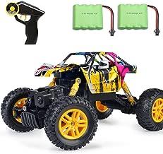 MaxTronic Coche RC 4x4 Radiocontrol 1:18 Juguete de Control Remoto 2.4Ghz 4WD RC Buggy Race Crawler