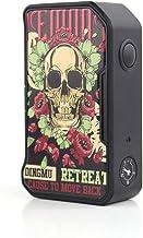 DOVPO M VV II Box MOD, Electronic Cigarette No e Liquid, No Nicotine (Skull & Roses)