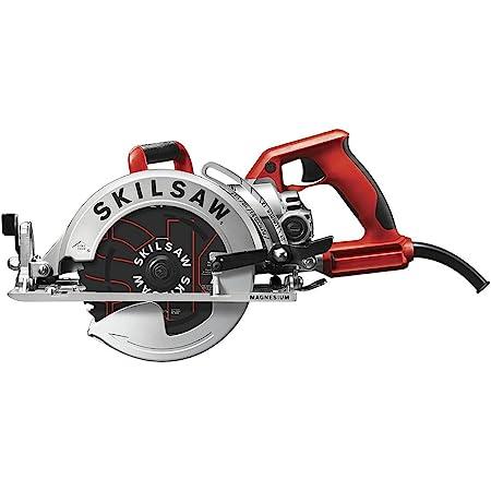 SKILSAW SPT77WML-01 15-Amp 7-1/4-Inch Lightweight Worm Drive Circular Saw , Silver