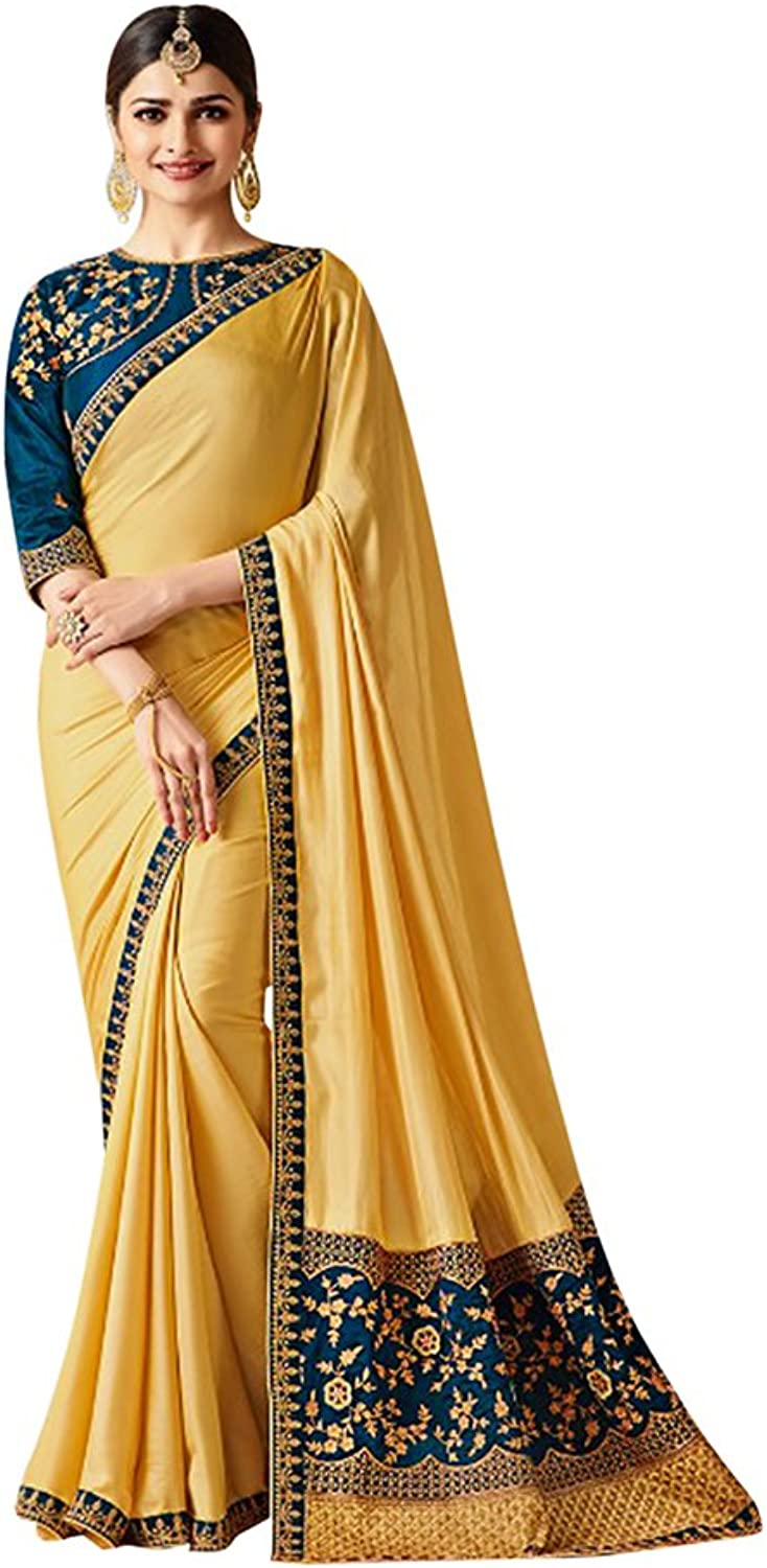 Bollywood Indian Saree Sari Collection Blouse Wedding Party Wear Ceremony Women Muslim eid 650 7bb