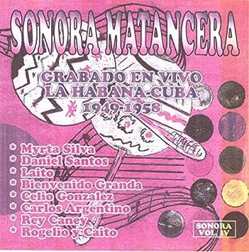 Sonora Matancera Vol. 4 - La Habana Cuba 1949-1958