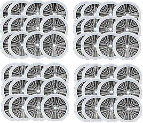 Pappteller-Halter für 22,9 cm Teller, wiederverwendbar, Weiß, 12 Stück, 4-(Pack)