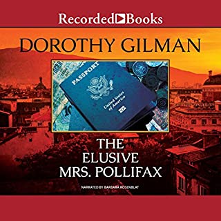The Elusive Mrs. Pollifax                   By:                                                                                                                                 Dorothy Gilman                               Narrated by:                                                                                                                                 Barbara Rosenblat                      Length: 6 hrs and 15 mins     1,632 ratings     Overall 4.7