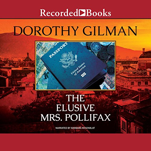 The Elusive Mrs. Pollifax         By:                                                                             Dorothy Gilman                   Narrated by:                                                                             Barbara Rosenblat                Length: 6 hrs and 15 mins   1,659 ratings   Overall 4.7